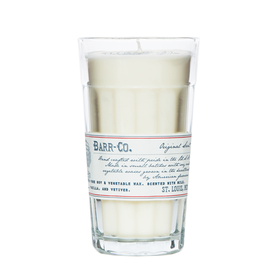 Shop Barr Co Milk Glass Candle at Rose St Trading Co