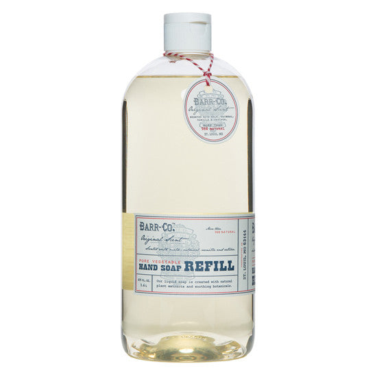 Shop Barr Co Liquid Hand Soap Refill at Rose St Trading Co