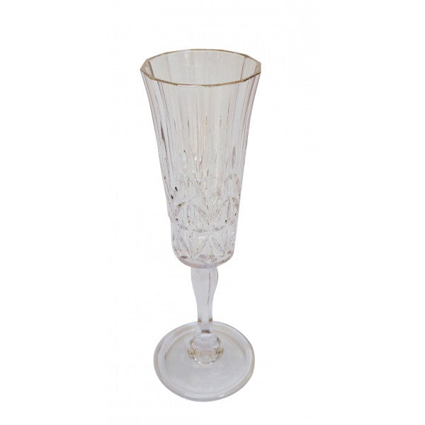 Shop Acrylic Crystal Cut Flute at Rose St Trading Co