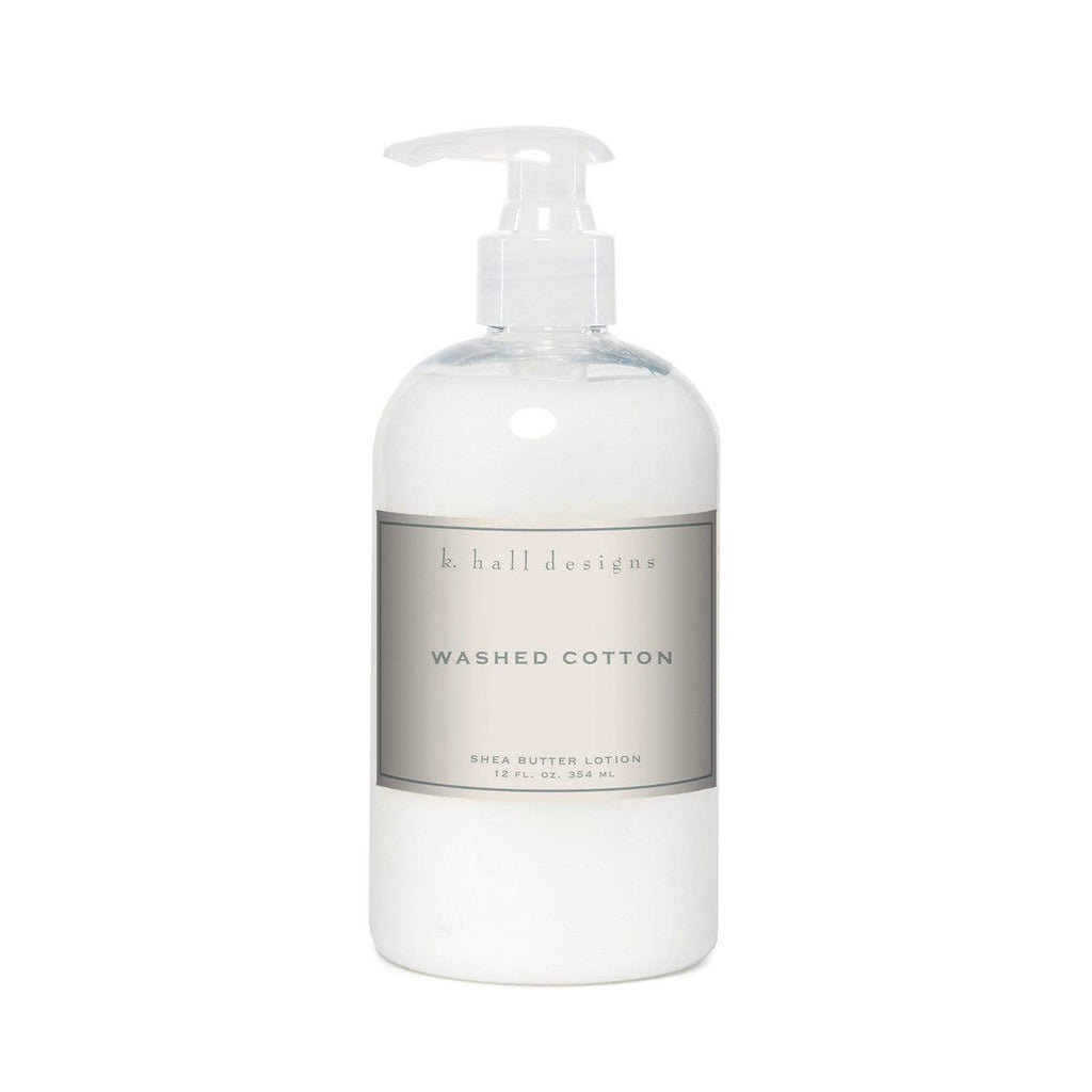 Shop K Hall | Washed Cotton Shea Butter Lotion at Rose St Trading Co