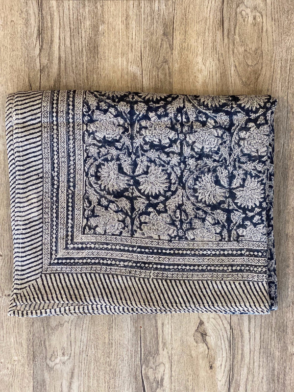 Shop Verne Tablecloth Navy at Rose St Trading Co