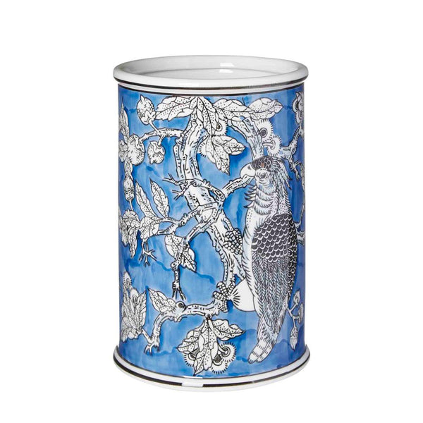 Shop Cockatoo Cylinder Vase | 26cm at Rose St Trading Co
