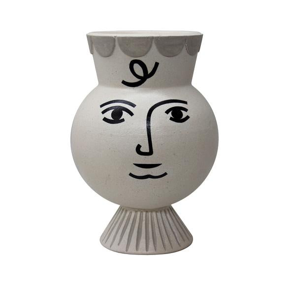 Shop Pan Vase Ancient White at Rose St Trading Co