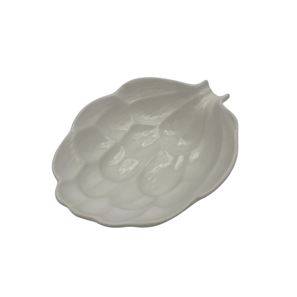 Shop Ceramic Leaf Bowl | White Small at Rose St Trading Co