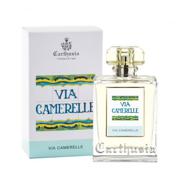 Shop CARTHUSIA Via Camerelle Eau de Parfum 100ml at Rose St Trading Co