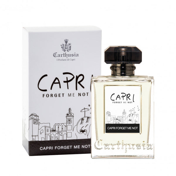 Shop CARTHUSIA Capri Forget Me Not Eau de Parfum 100ml at Rose St Trading Co