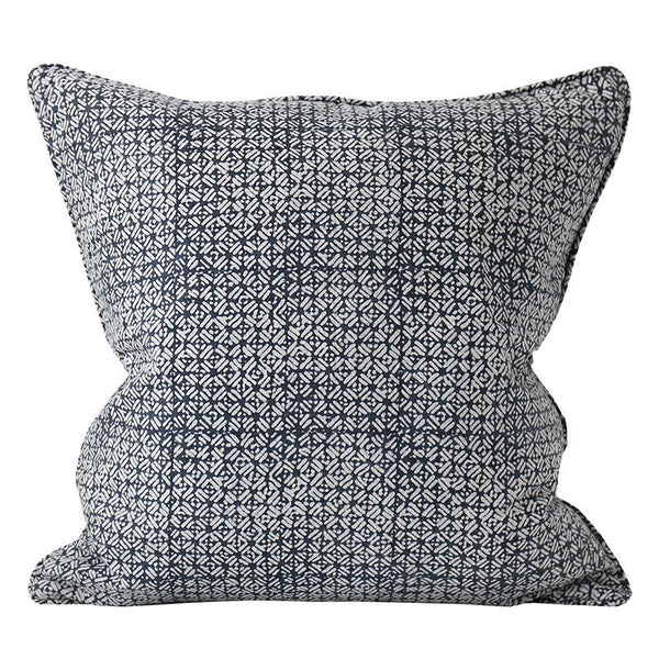 Shop Batik Indian Teal Cushion | 55x55cm at Rose St Trading Co
