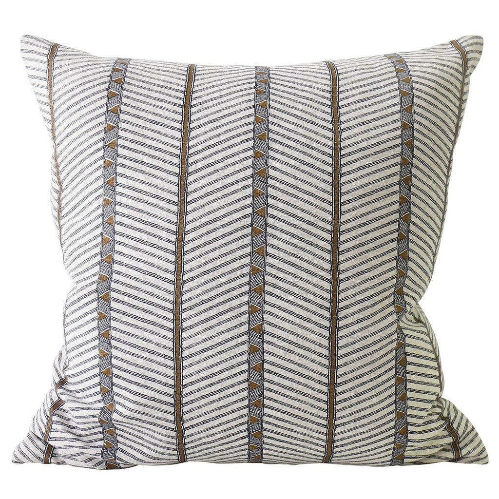 Shop Zanzibar Tobacco Linen Cushion at Rose St Trading Co