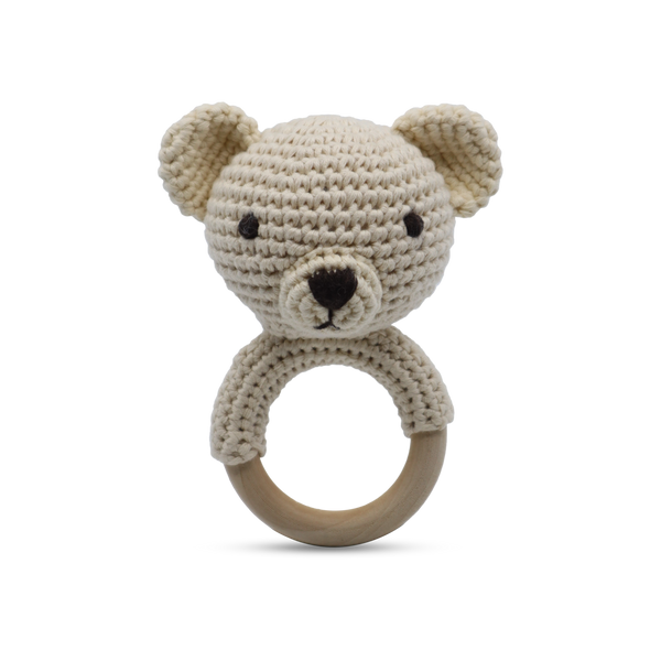 Shop Shaker Ring Toy | Teddy at Rose St Trading Co