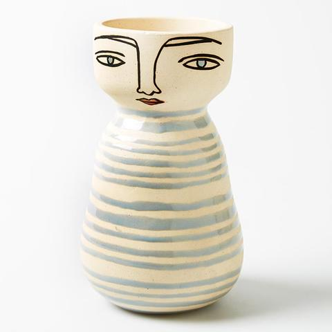 Shop Greta Vase - PRE ORDER FOR MAY DELIVERY at Rose St Trading Co