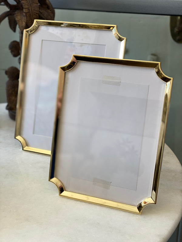 "Shop Frame - Hamptons Gold Clipped - 5x7"" at Rose St Trading Co"