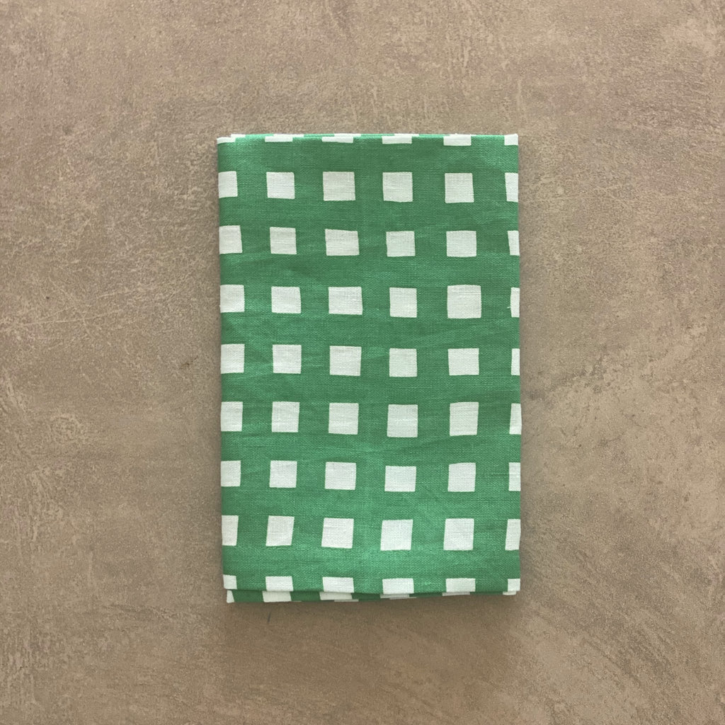 Shop Gingham Napkin | Green at Rose St Trading Co