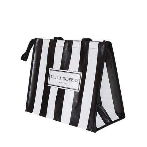 Shop The Laundress | Black + White Striped Shopper at Rose St Trading Co