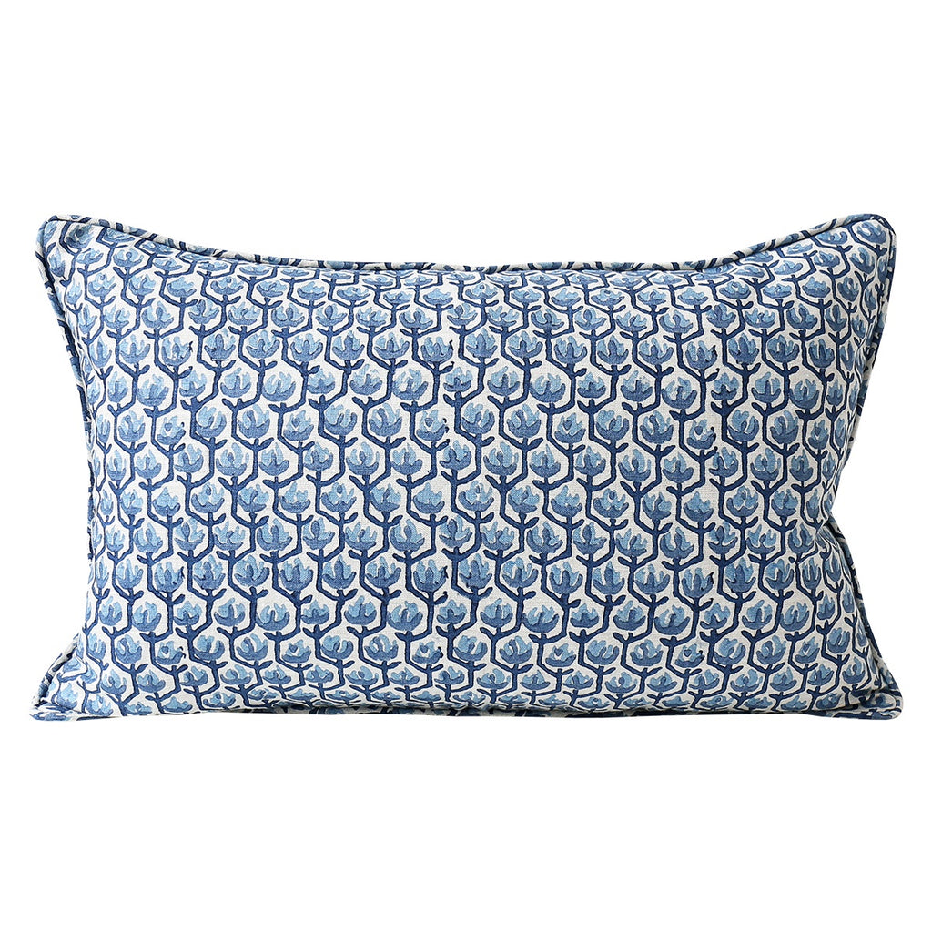 Shop Hermosa Riviera Linen Cushion - 35x55cm at Rose St Trading Co