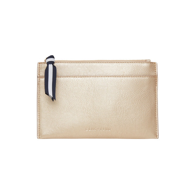 Shop New York Coin Purse - Light Gold at Rose St Trading Co
