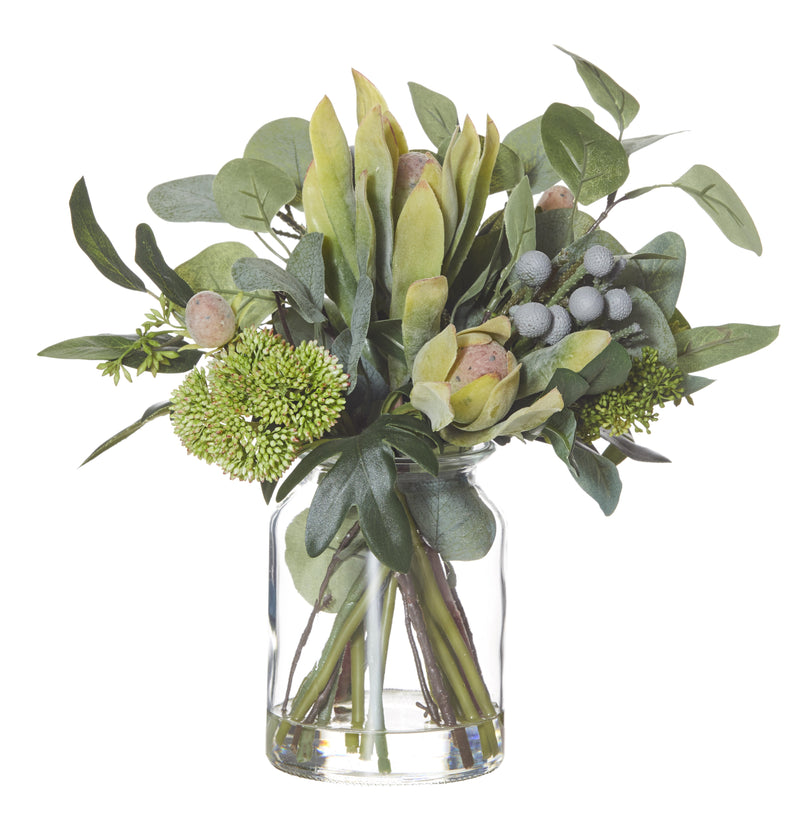 Shop Australiana Mix in Glass Lip Vase - 35cm at Rose St Trading Co