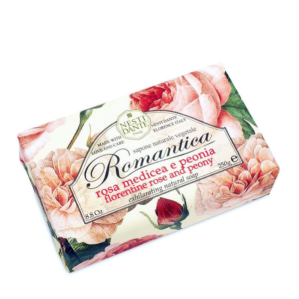 Shop Romantica Rose & Peony Soap at Rose St Trading Co
