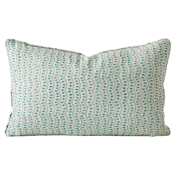 Shop Amulet Turkish Linen Cushion | 35 x 55cm at Rose St Trading Co