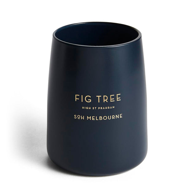 SOH FIG Candle | Navy Matte Vessel
