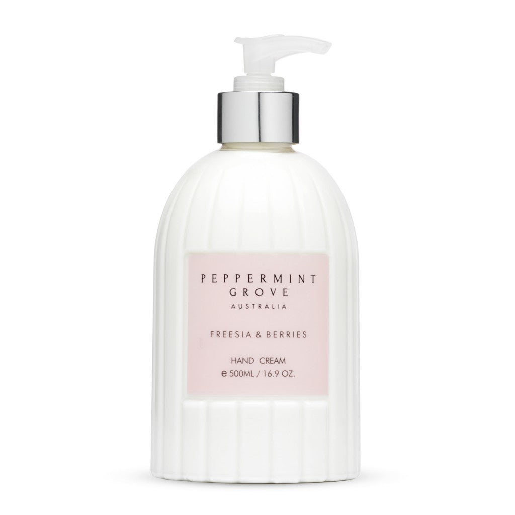Shop Freesia + Berries | Hand Cream Pump at Rose St Trading Co