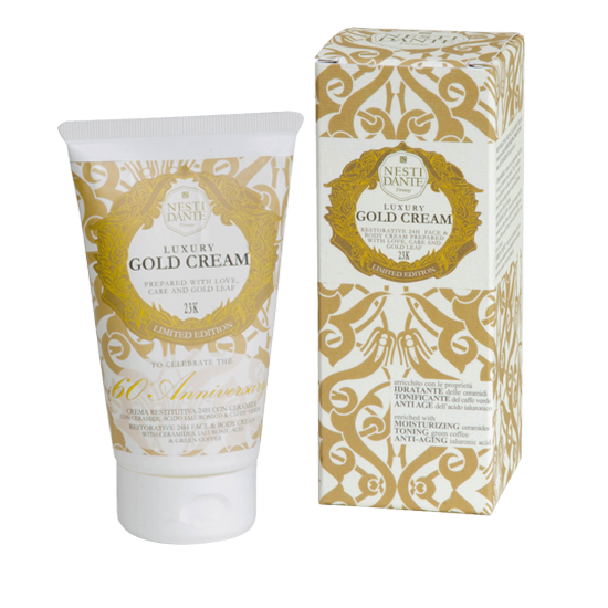 Shop Gold Face And Body Cream at Rose St Trading Co
