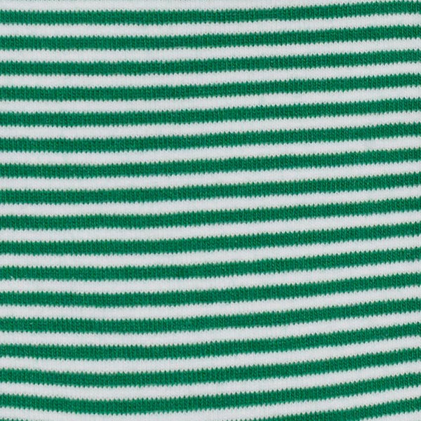 Shop Mens Socks | Green + White Pinstripe at Rose St Trading Co