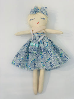 Shop Charli Mae Original Doll - blue floral at Rose St Trading Co