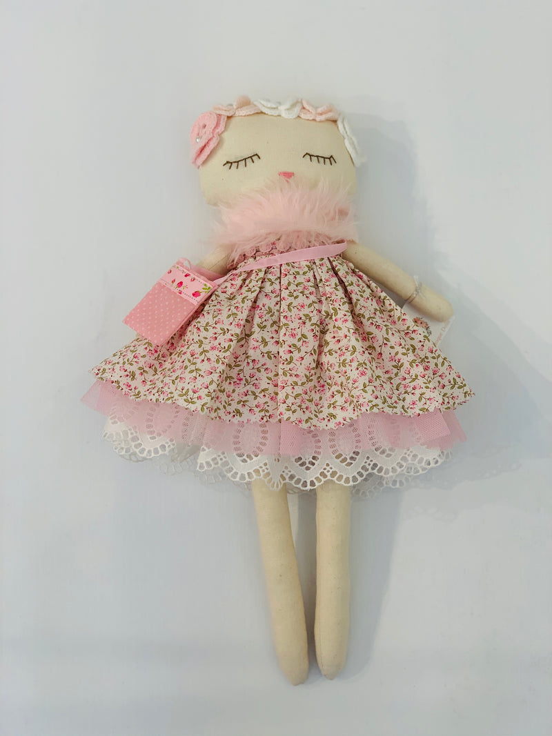 Shop Charli Mae Original Doll - pink floral at Rose St Trading Co