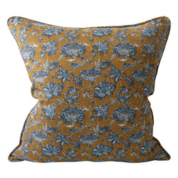 Shop Java Tobacco Linen Cushion -50x50cm at Rose St Trading Co