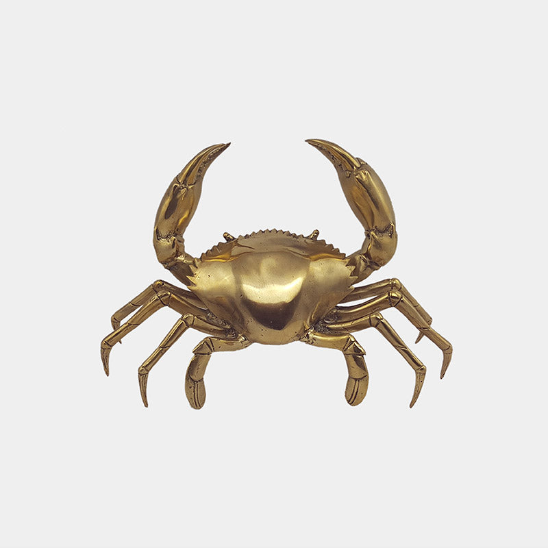 Shop Crab Brass | Large at Rose St Trading Co