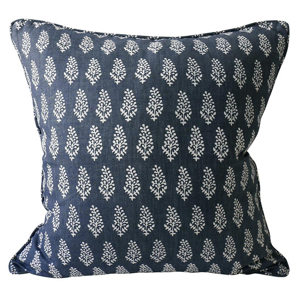Shop Lucknow Harbour Linen Cushion -55 x 55cm at Rose St Trading Co