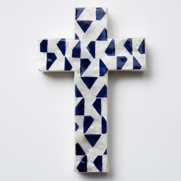 Shop Blue Tri Cross at Rose St Trading Co