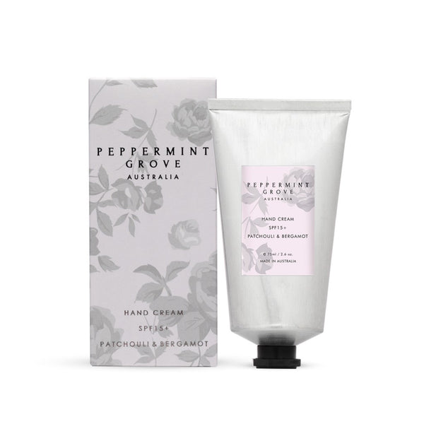 Shop Patchouli + Bergamot | Hand Cream Tube at Rose St Trading Co