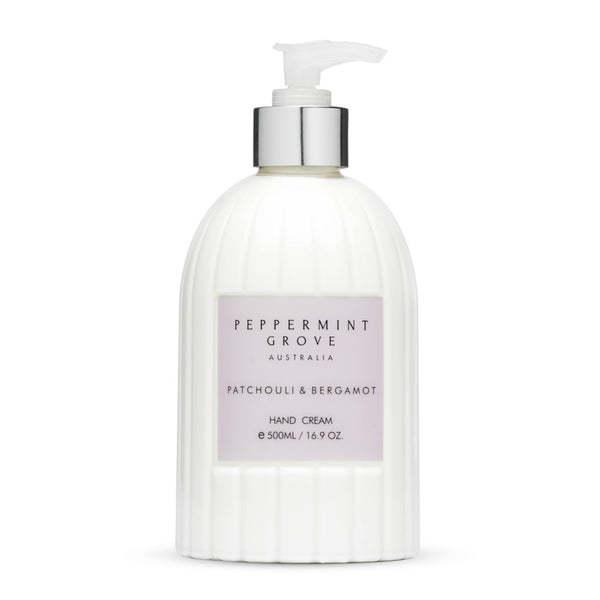 Shop Patchouli + Bergamot | Hand Cream Pump at Rose St Trading Co