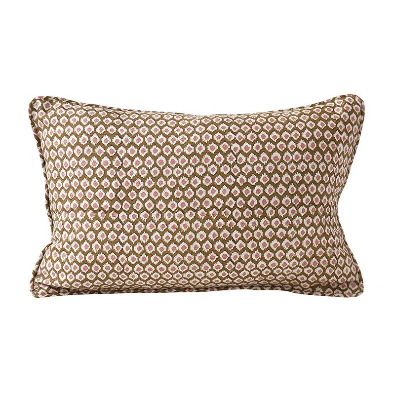 Shop Patola Musk Linen Cushion -30 x 45cm at Rose St Trading Co