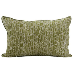 Shop Petra Moss Cushion - 35 x 55cm at Rose St Trading Co