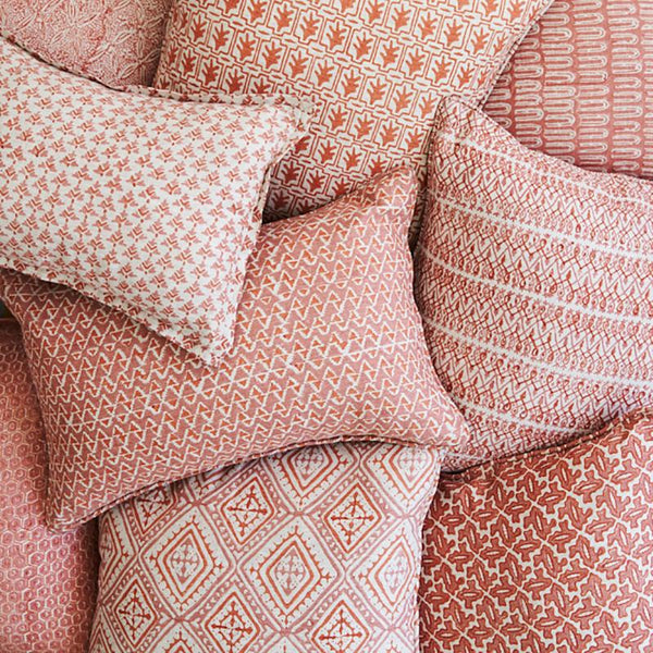 Shop Havana Guava Linen Cushion -50 x 50cm at Rose St Trading Co