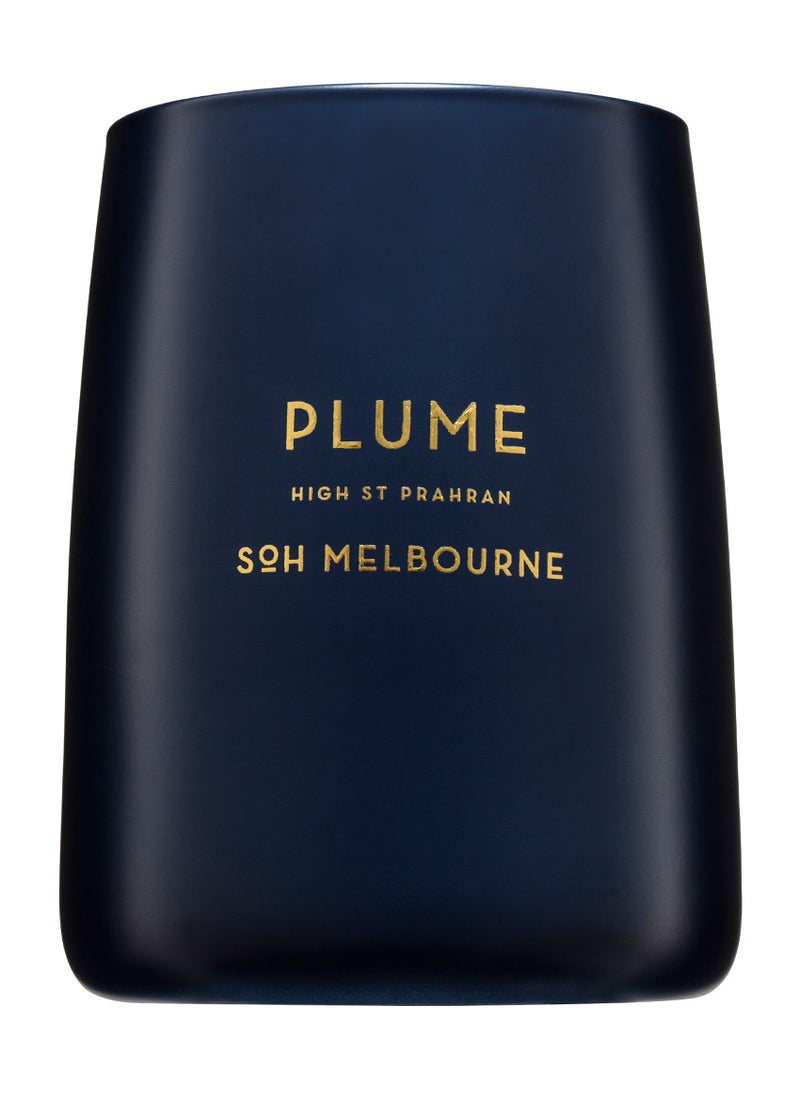 Shop SOH Matte Navy Plume Candle at Rose St Trading Co