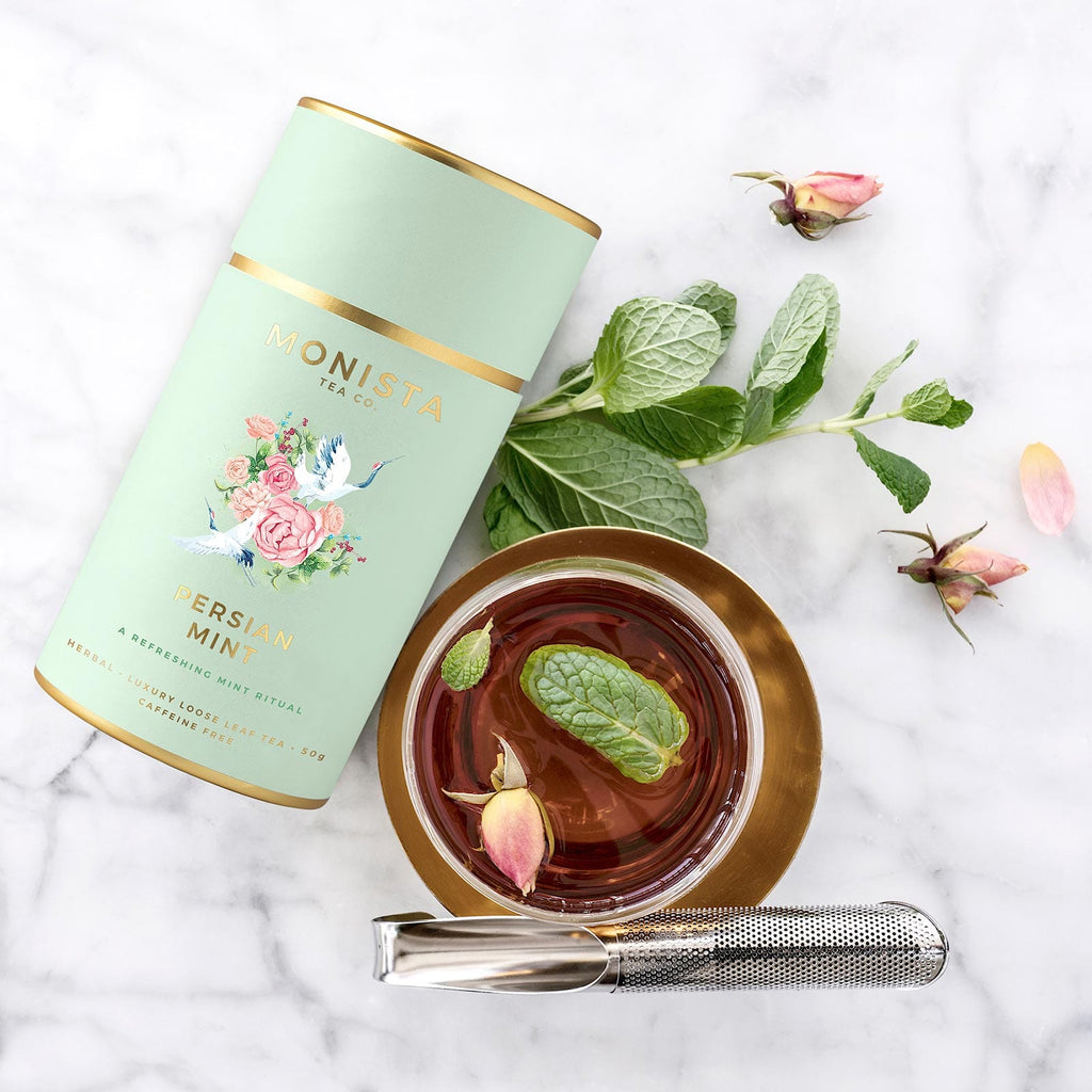 Shop Persian Mint Tea at Rose St Trading Co