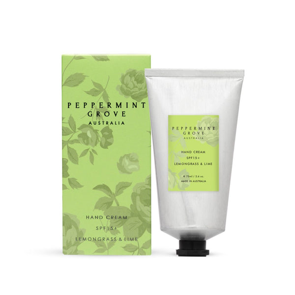Shop Lemongrass + Lime | Hand Cream Tube at Rose St Trading Co
