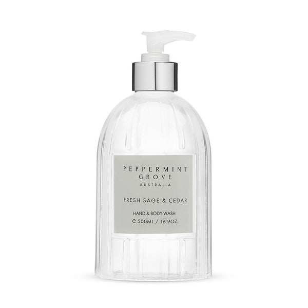 Shop Fresh Sage + Cedar | Hand + Body Wash at Rose St Trading Co