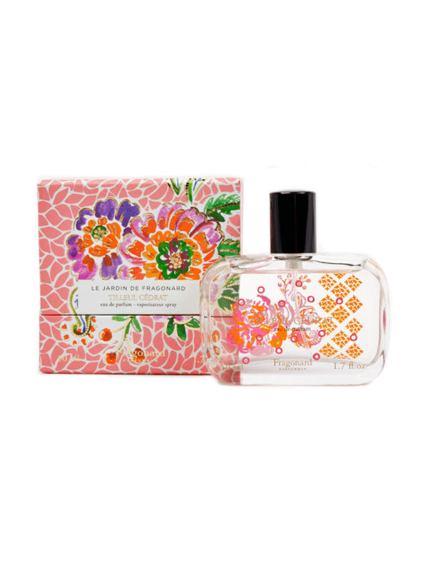 Shop Fragonard Tilleul Cedrat Eau De Parfum 50ml at Rose St Trading Co