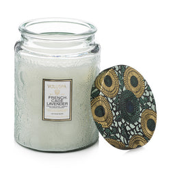 Shop Voluspa French Cade and Lavender 100hr Candle at Rose St Trading Co