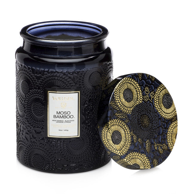 Shop Voluspa Moso Bamboo 100hr Candle at Rose St Trading Co
