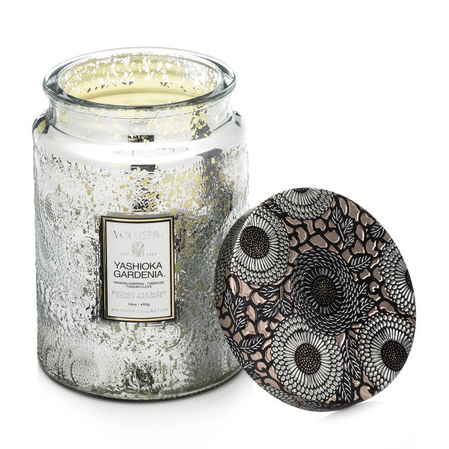 Shop Voluspa Yashioka Gardenia | 100hr Candle at Rose St Trading Co