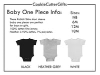 Little Boo Baby Bodysuit - Halloween Baby Announcement Outfit