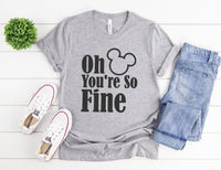 Oh Mickey You're So Fine Shirt - I'm Mickey Shirt- Disney Couples Shirts