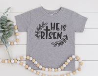 He Is Risen Shirt for Kids - Easter Shirt for Kids
