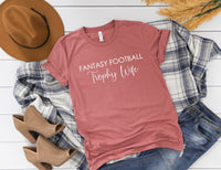 Fantasy Football Trophy Wife Shirt - Fantasy Football Wife Shirt