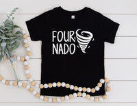 Four Nado Shirt - 4th Birthday Shirt For Toddler